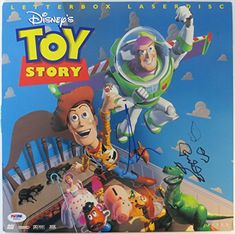 Tim Allen & Don Rickles Signed Toy Story Laserdisc Cover PSA/DNA #W68831 @ niftywarehouse.com