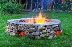 River Rock Fire Pit - could we possible do this?