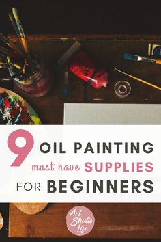 Discover a list of important oil painting supplies that beginners need to have when getting started into oil painting! Oil Painting Supplies, Beginner Art, Old Towels, Oil Painters, Linseed Oil, Drawing Lessons, Your Paintings, Artist Painting, Natural Oils