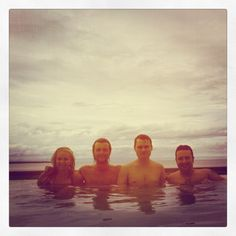 The boys, an a nice backpacker called Judith. - keith-harkin Photo