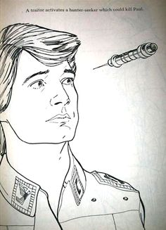 Hey Kids, Let's Color David Lynch's Dune Coloring Book!