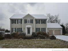 124 Ridgefield Dr, S Windsor, CT 06074 — 4/5 Br lacava colonial in sought after area on cul-de-sac ! Fully finished lower level adds 903 sf w/full bath, add'l br, kichenette. In-law or au pair. In ground heated pool, wetbar, 3 season sunroom. French doors, solid 6 panel doors. Master has 2walk-in closets. Family room, sunroom added in 2003.