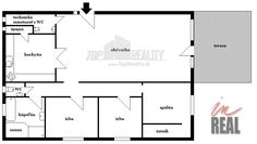 Luxusný veľkometrážny byt s terasou: 8 ročná tehlová novostavba, 4 izby + terasa, klimatizácia, vlastné kúrenie, sauna, ÚP: 205,44 m2 + 20 m2 terasa, vlastné parkovanie. :: TOP Reality