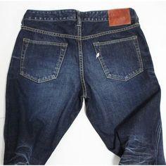5ddd066635 Pure Blue Japan 1119 MEN USED WASH 5 POCKETS DENIM - Jeans - Bottoms