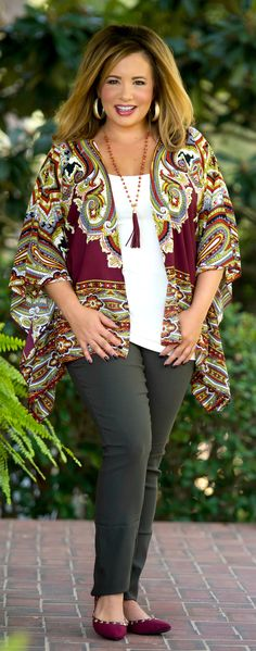 Wine Me And Dine Me Cardigan - Perfectly Priscilla Boutique