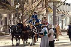Colonial Williamsburg, VA...everything about it! The Lodge, the architecture, the history, the happenings, and of course, the taverns!!