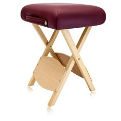 Dr.lomilomi Wooden Folding Massage Stool 511 (Burgundy) * Find out more about the great product at the image link. (Note:Amazon affiliate link)
