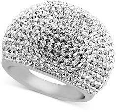 Zales Lab-Created White Sapphire Filigree Domed Vintage-Style Ring in Sterling Silver