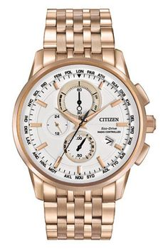 Siemer Jewelers Citizen Citizen Eco-Drive World Chronograph A-T AT8113-55A World Chronograph AT