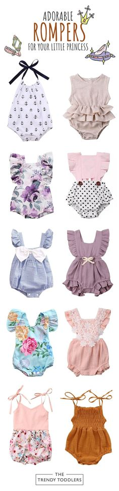 New baby clothes fashion bebe 33 Ideas Newborn Fashion, Newborn Girl Outfits, Cute Girl Outfits, Baby Girl Newborn, Kids Outfits, Baby Baby, Baby Girls, Newborn Onesies, Trendy Baby Clothes
