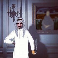 Artwork by #Saudi artist Yousef Alshaikh