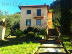 Sea view holiday villa for rent in Levanto Liguria - Italy luxury vacation rental Rental Apartments, Luxury Villa, Ideal Home, Condo, Outdoor Structures, Italy, Vacation, Mansions, House Styles