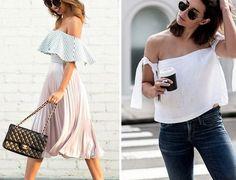 We love off-shoulders! Welke vind jij het leukst? #offshoulder #potd #streetstyle #style #fashion #fashiongram #instafashion #instagood #instalike #bestoftheday #picoftheday #shopping #fashionblog by fashionco.nl