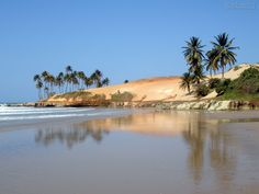 Lagoinha beach, Ceará, Brazil