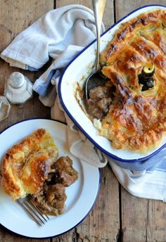 Lavender and Lovage | Christmas and New Year Cumbrian Chimney Pot Pie | http://www.lavenderandlovage.com