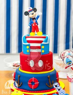 Mickey Mouse Cake.This really looks cute.Please check out my website thanks. www.photopix.co.nz