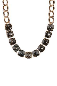 Natasha Accessories   Stone Bib Necklace   Nordstrom Rack
