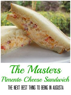 Get ready for The Masters with this delicious Pimento Cheese Recipe! SO good! Tastes better than the original.
