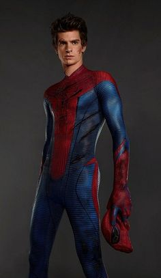 SPIDEY the new one who is attractive and doesn't portray the whiny comic-book character---yes this one would fit nicely in my room