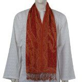 Indian Clothing Men Scarf Wool Fashion for Men Gifts Ideas 13 X 64 Inches (Apparel)