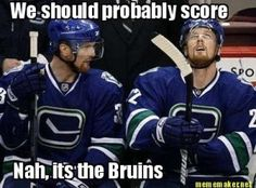#Canucks - No Score against the #Bruins