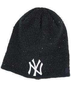 8c4ec35b87e New Era Women s New York Yankees Glistener Knit Hat Knit Hat For Men