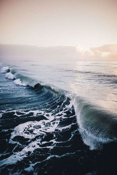 Imagen de ocean, sea, and waves