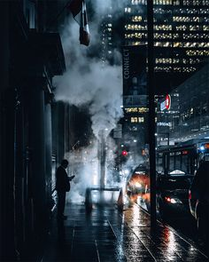 I wander the streets of Toronto at night, looking for cinematic moments. This is what I found...