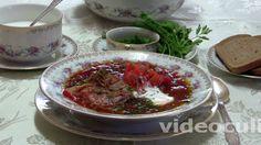 Украинский борщ - фото-рецепт и видео рецепт