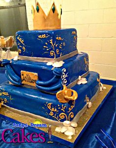 Elegant Little Royal Prince Baby Shower Decorations   TAGGED: Prince William Baby  Shower Cake Decorating Community