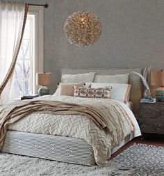 Love the look of this bedroom