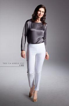 Lisette L The 7 8 Ankle Cut Capri 801 #shapers #slimwear #spanx  http://lisette-l.com/essencials/
