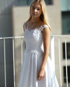 Confirmation Dresses White, Prom Dresses, Formal Dresses, Wedding Dresses, Blond, White Dress, Outfits, Beautiful, Fashion