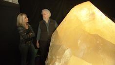 Rock stars: Mined masterpieces! Collector Richard Berger has spent his life amassing a monumental collection of crystals, some the size of a car. Full article available at: http://www.cbsnews.com/news/rock-stars-crystals-mined-masterpieces/ #minerals #collecting