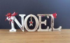 Noel,+scritta+in+legno,+decorazione+natalizia+in+legno+di+spremutadipois+su+Etsy