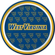 West Virginia Mountaineers Dessert Plates, 8-Pack, Assorted