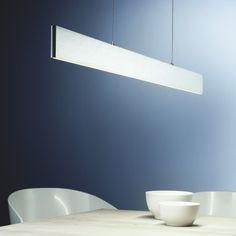 SKAPETZE -    Slim / LED-Hängeleuchte / 3120 Lumen / Up&Down dimmbar / Alu-matt Innenleuchten Hängeleuchten