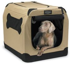 Firstrax Port-A-Crate E2 Indoor/Outdoor Pet Home, 36-Inch