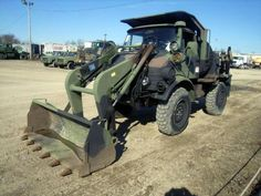 Awesome Unimog for sale. Only 633 miles, manual transmission, Diesel engine - Government Liquidation