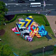 MASER: Installations. A selection of the brightly... - SUPERSONIC ART