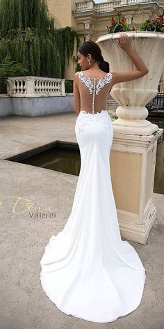 Tina Valerdi Wedding Dresses 2017 Collection ❤ Classic colours, stunning silhouette and luxurious materials define Tina Valerdi Wedding Dresses Collection. See more: http://www.weddingforward.com/tina-valerdi-wedding-dresses/ #wedding #dresses