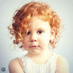 Darling red curls.
