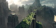 Richard Wright is an artist based in the UK who has worked on a ton of video game commercials and cinematics.