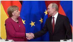 Το Κουτσαβάκι: Η Μέρκελ: «Είναι με τη Ρωσία και εναντίον των Ηνωμ...