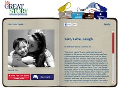Check out the June 2013 My Great Story of the Month Contest winner, Live, Love, Laugh by McKenzie Sexton of Louisville, KY! Share your story at ndss.org/stories!
