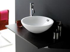 Castellon Bathco umywalka nablatowa 43x145 - 0012B  http://www.hansloren.pl/Ceramika-sanitarna/Umywalki/BATHCO