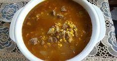 Fabulosa receta para Carne de res con granos de elote en salsa de jalapeños.