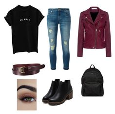 """""""Untitled #26"""" by anda-costache ❤ liked on Polyvore featuring MICHAEL Michael Kors, IRO, Uniqlo and Hogan"""