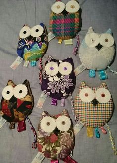 Sensory products are calming for all kids  These cute little Owl fiddle toys have wheat and lavender to assist,  can be heated slightly, and a great distraction during unsettled moments