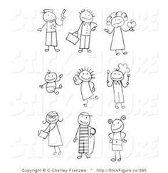 Free Stick People Clip Art - Bing Images